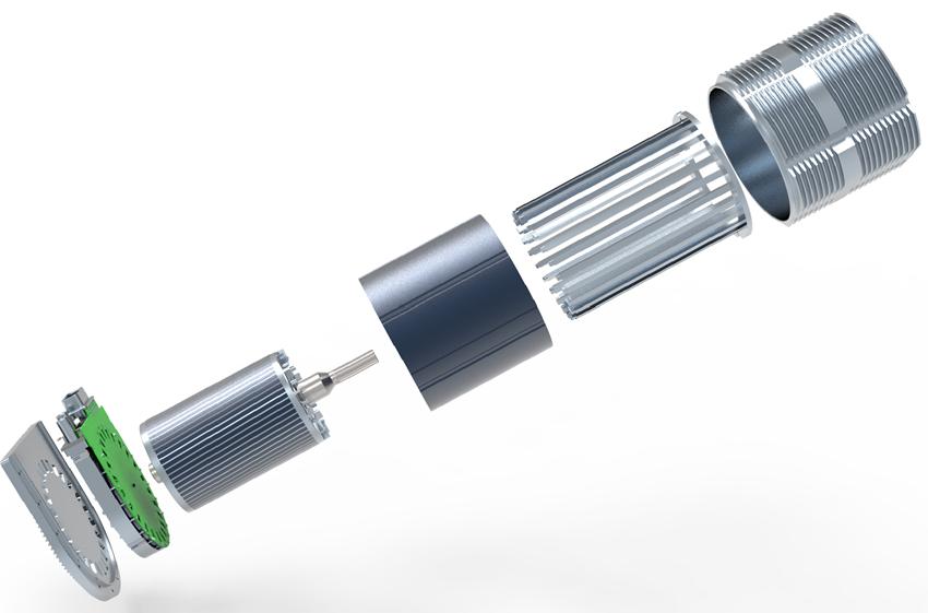 动态配置感应电机系统技术